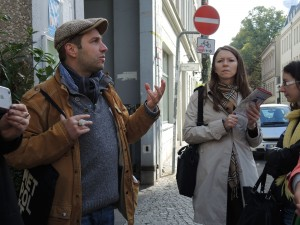 guided city tour in Berlin-Mitte